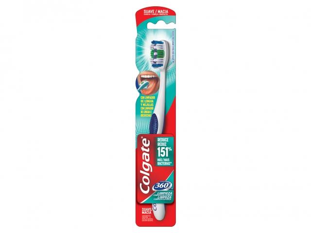 Escova Dental Colgate 360 Graus Macia