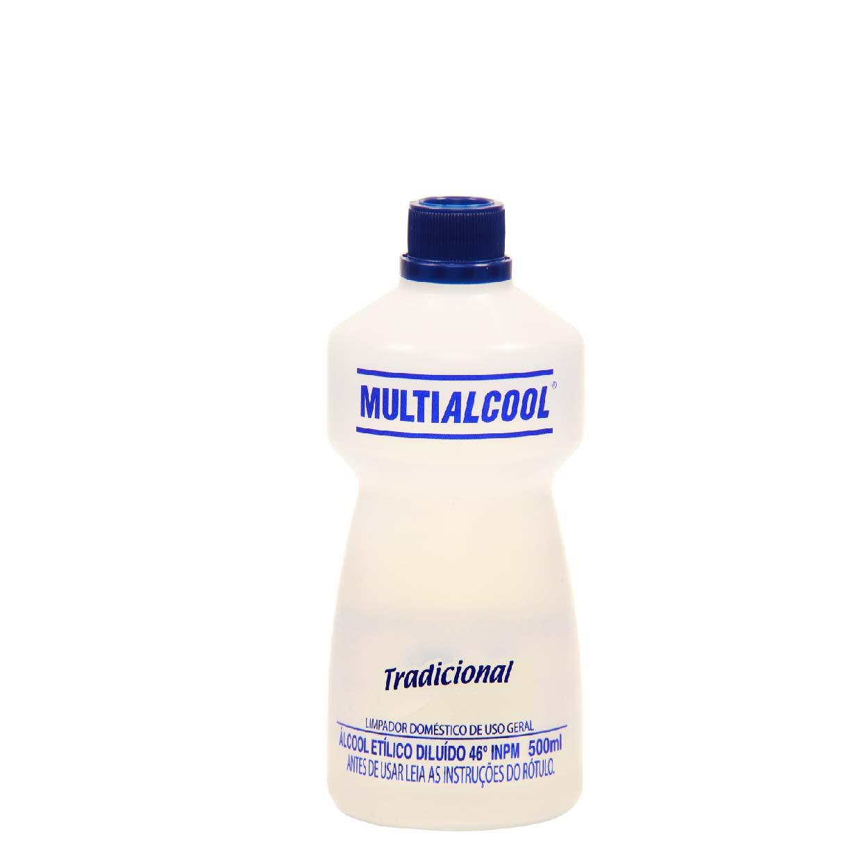Álcool 46graus Multialcool 500ml