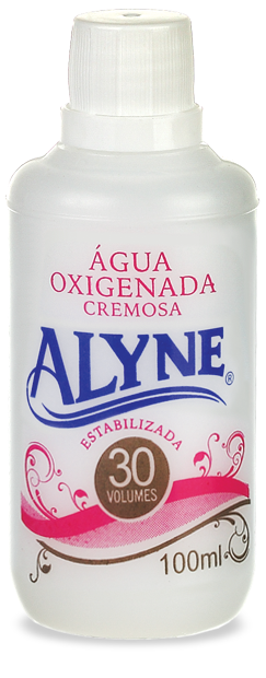 Água Oxigenada Creme Alyne 100ml 30 Volumes