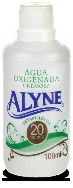 Água Oxigenada Creme Alyne 100ml 20 Volumes
