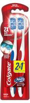 Escova Dental Colgate 360 Graus Luminous White  Macia (lv2/pg1)