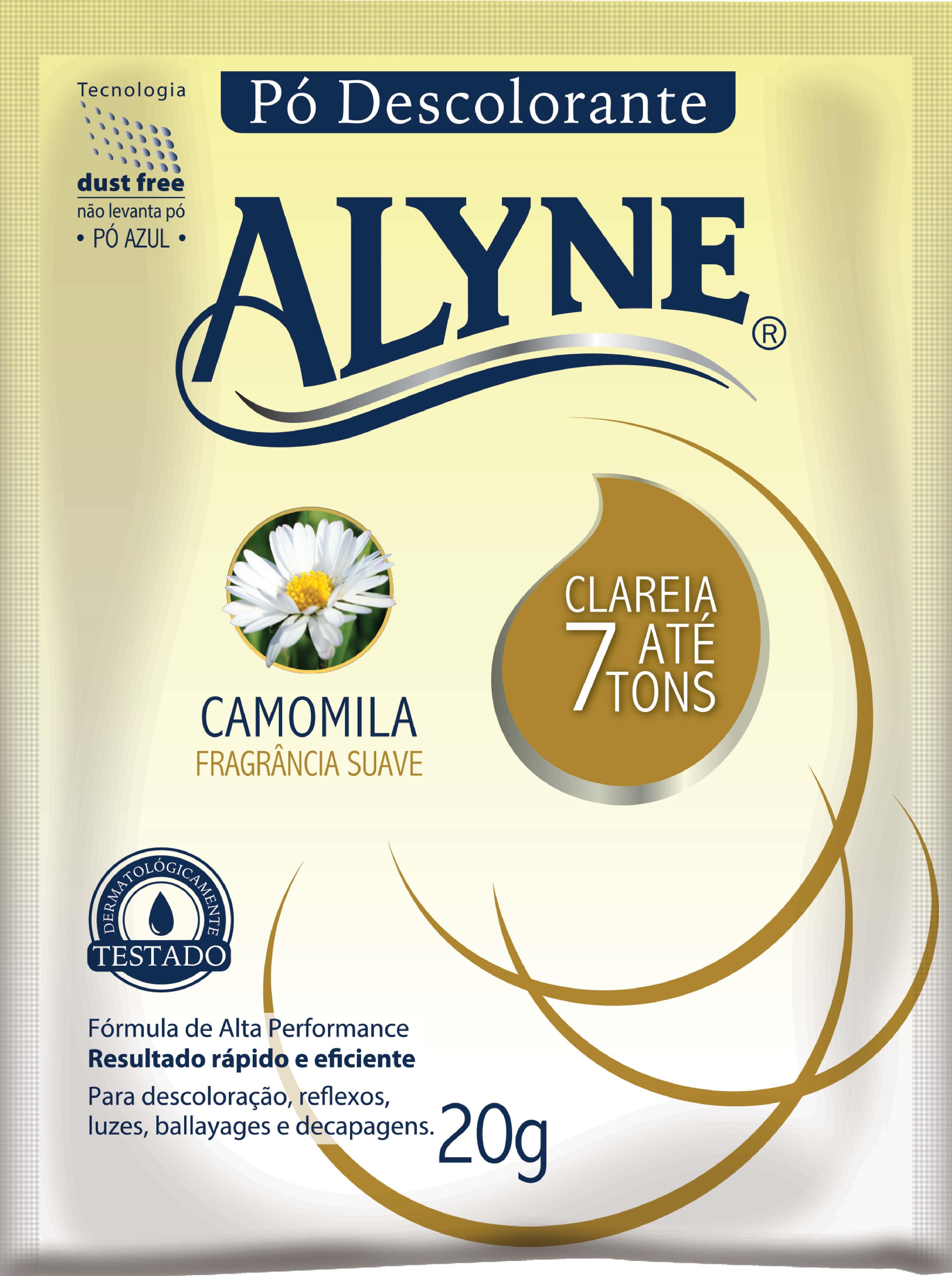 Pó Descolorante Alyne 20G Camomila