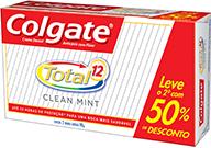 Creme Dental Colgate Total 12 2X90G