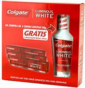 Creme Dental Colgate Luminous White3X70G (Gt.Enx.Bucal)