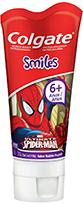 Gel Dental Colgate  Smiles 100g Spider Man