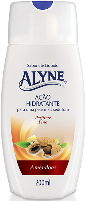 Sab. Liq.p/corpo Alyne 200ml Amendoas