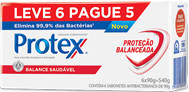 Sabonete Protex 90g (LV6/PG5) Balance Saudável