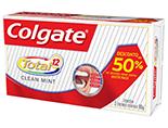 Creme Dental Colgate Total 12 2X90g (2º C/ 50% Desc)