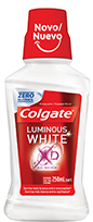Antisséptico Colgate Luminous White XD Shine 250ml