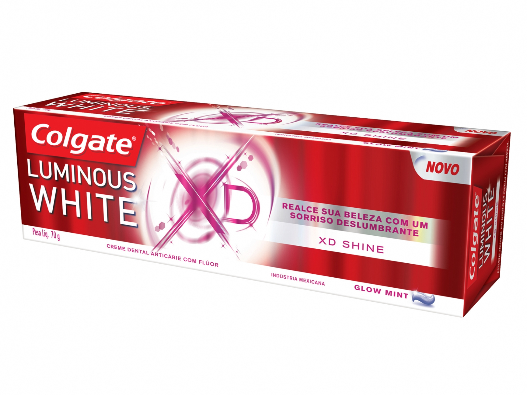 Creme Dental Colgate Luminous White XD Shine 70g