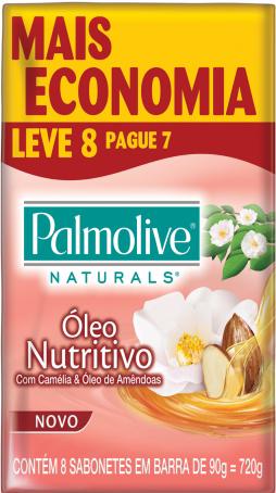 Sabonete Palmolive Naturals 90g(Leve8/Pague7) Óleo Nutritivo