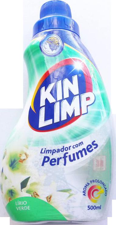 Limpadores com Perfumes Kin Limp 500m Lírio Verde