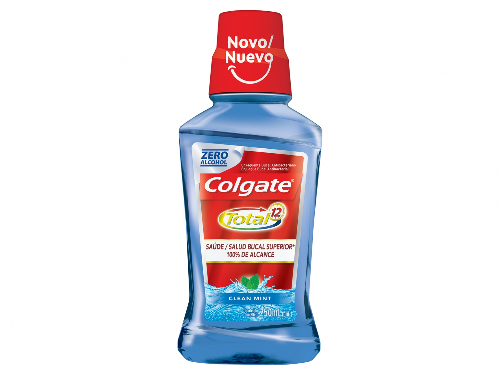 Antisséptico Colgate Total 12 250ML Clean Mint