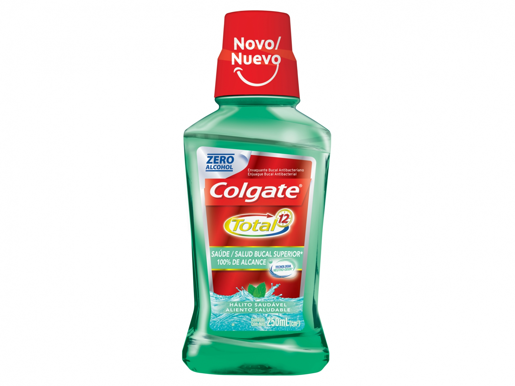 Antisséptico Colgate Total 12 250ML Breath Health