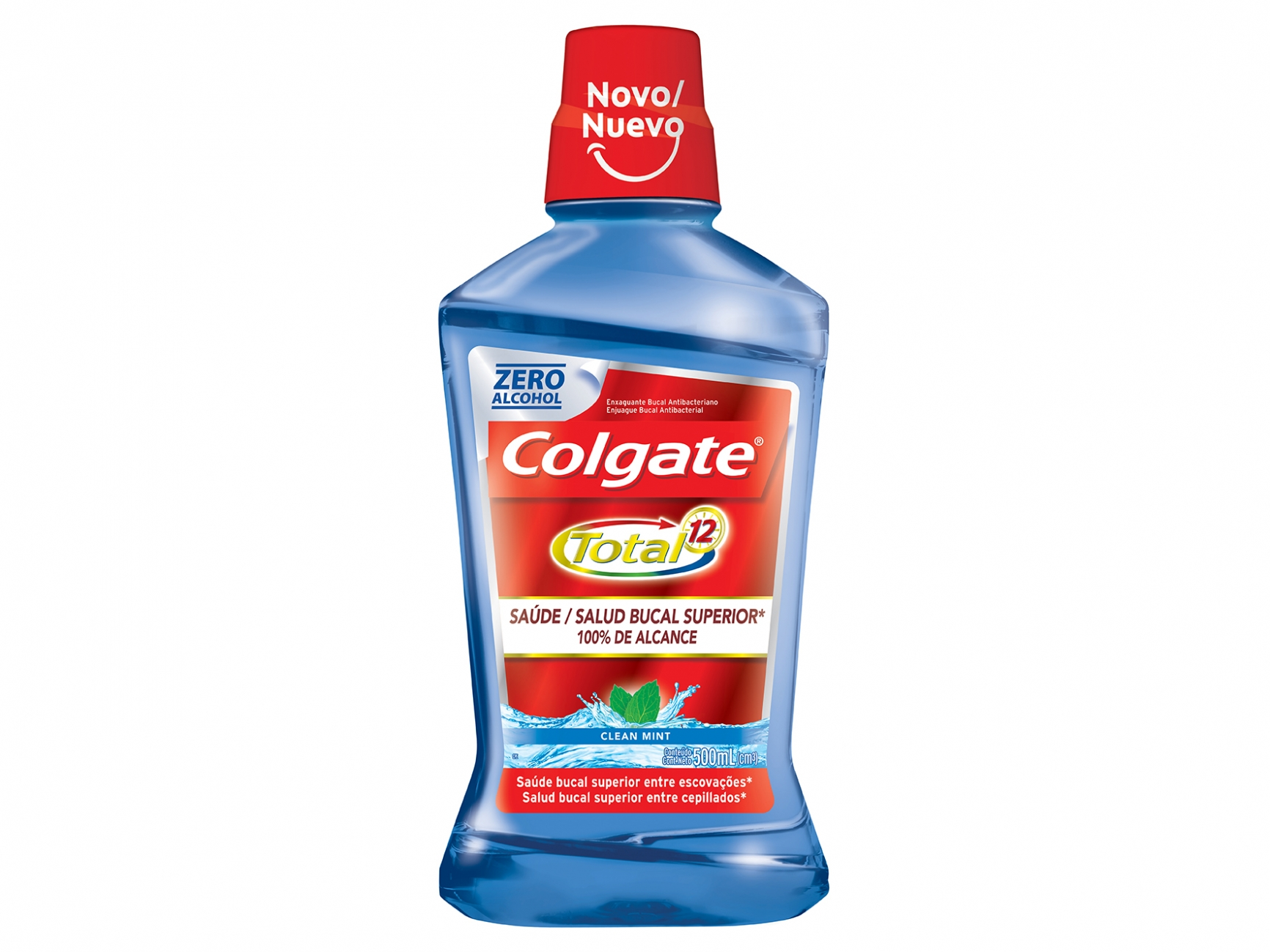 Antisséptico Colgate Total 12 500ML Clean Mint