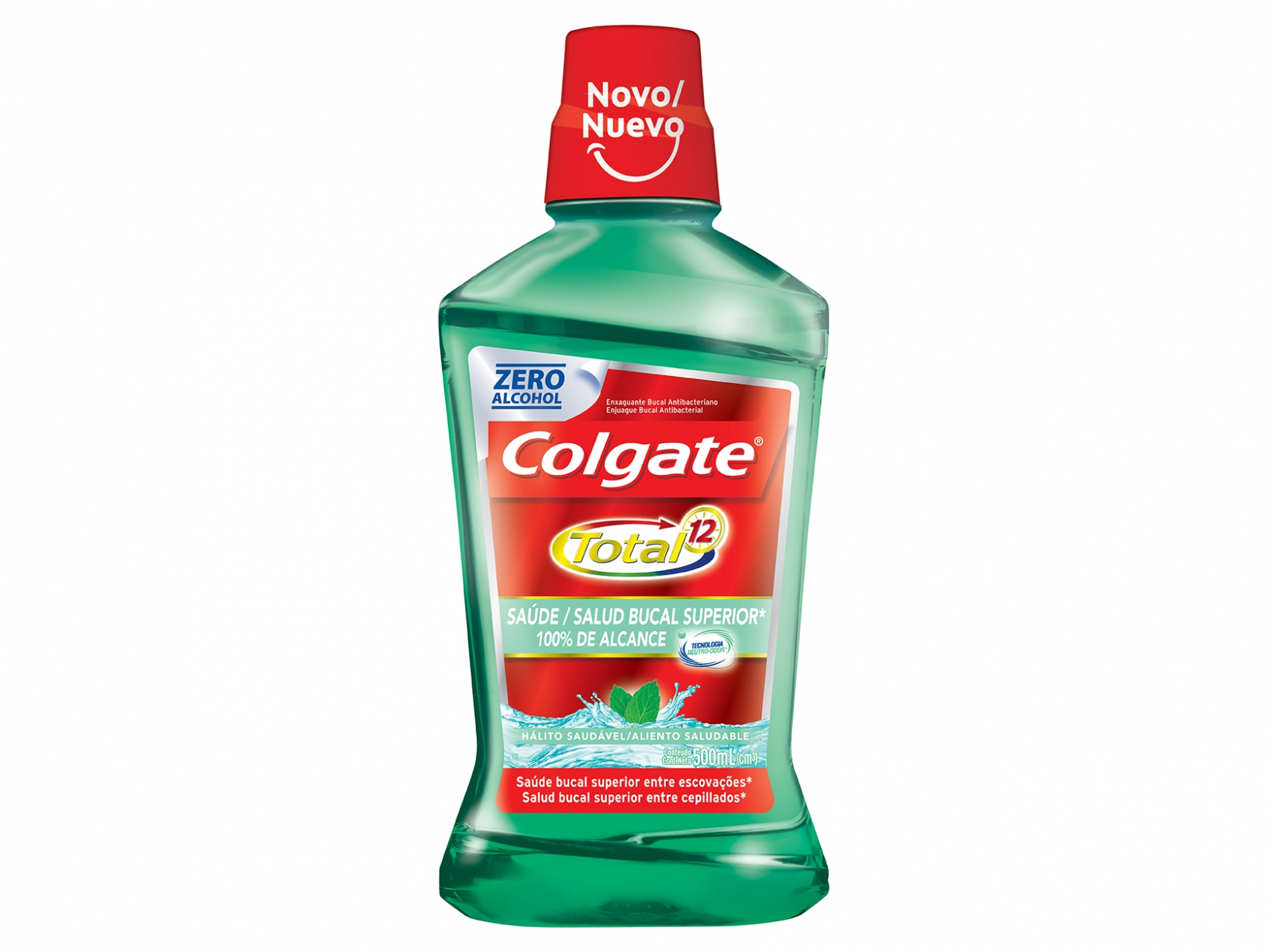Antisséptico Colgate Total 12 500ML Breath Health