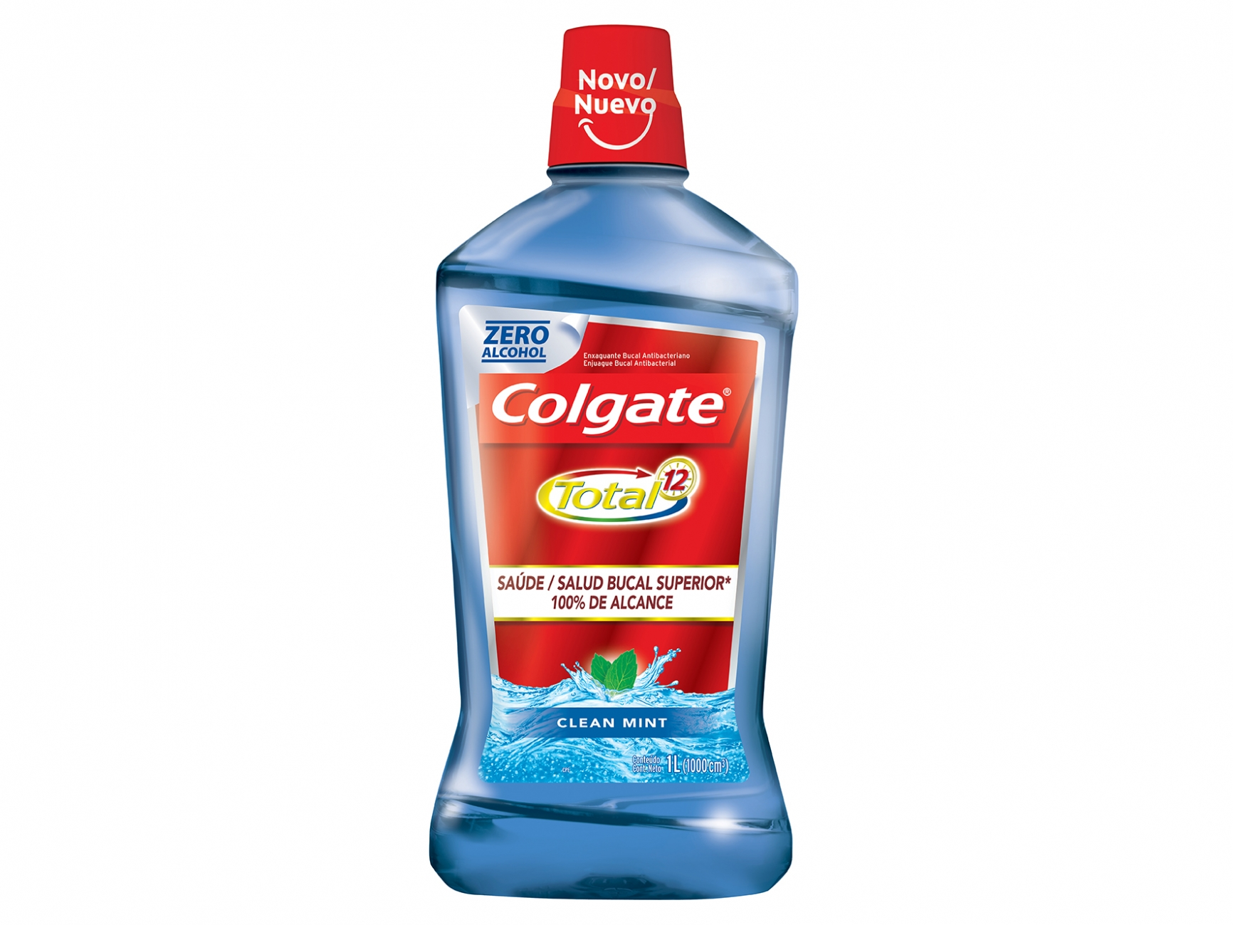 Antisséptico Colgate Total 12 1LT Clean Mint