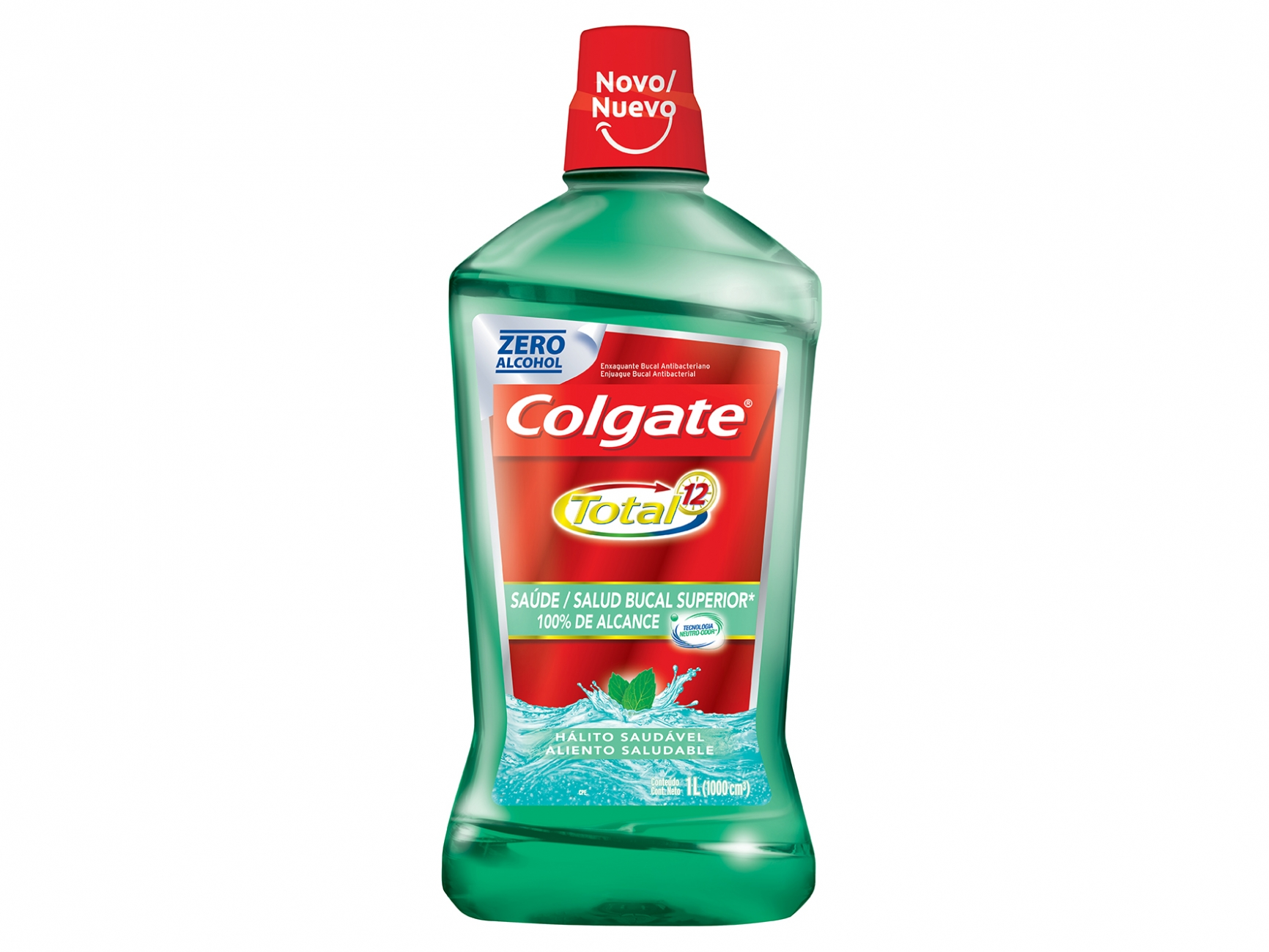 Antisséptico Colgate Total 12 1LT Breath Health